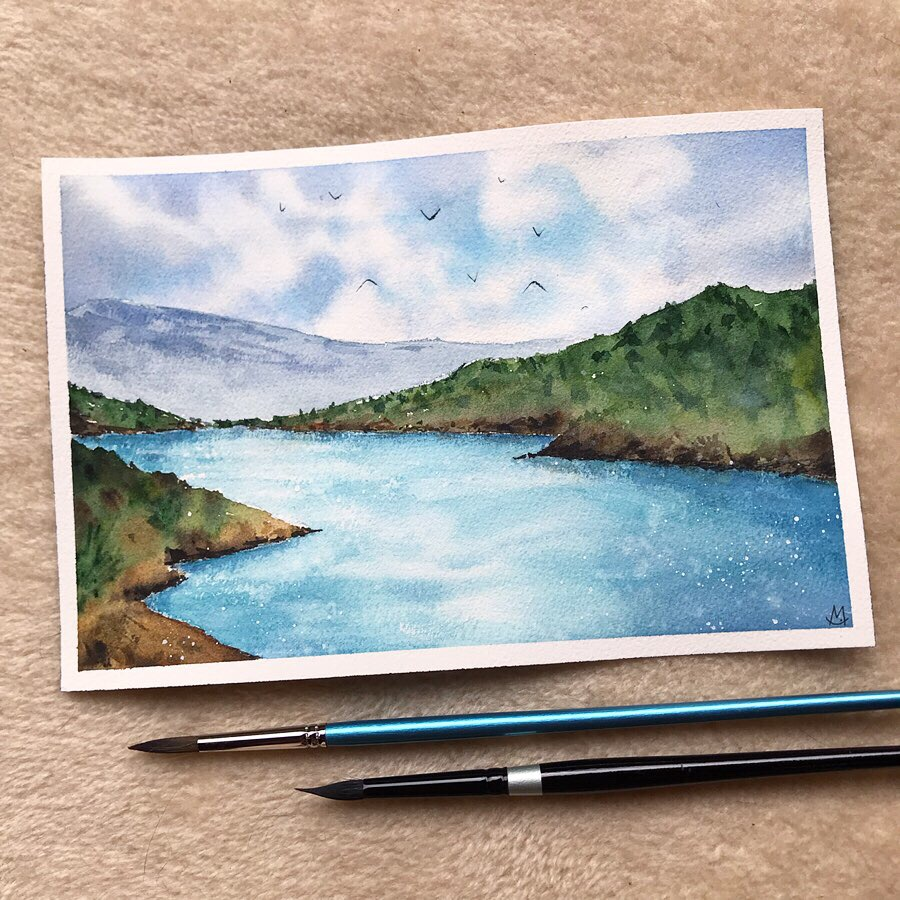 Lake Scene 🏞️