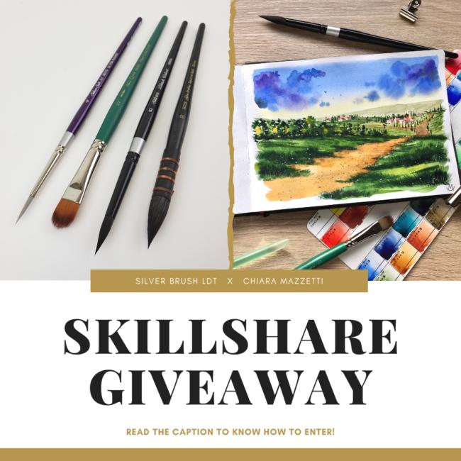 Skillshare Giveaway 10/2019